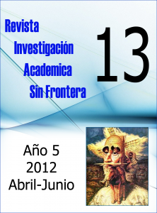 Ver Núm. 13 (5): Abril - Junio 2012