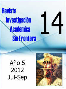 Ver Núm. 14 (5): Julio - Septiembre 2012